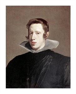 """Diego Velazquez Fine Art Open Edition Giclée:""""Prince Philip Iv"""""""