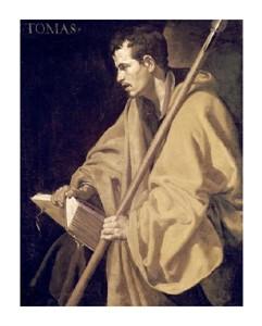 """Diego Velazquez Fine Art Open Edition Giclée:""""Saint Thomas"""""""