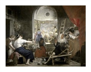 "Diego Velazquez Fine Art Open Edition Giclée:""Spinners Las Hilanderas"""