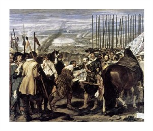"Diego Velazquez Fine Art Open Edition Giclée:""Surrender of Breda (The Spears)"""