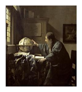 """Johannes Vermeer Fine Art Open Edition Giclée:""""The Astronomer"""""""