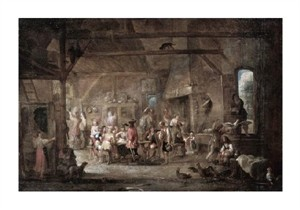 "Cornelis De Wael Fine Art Open Edition Giclée:""At the Bar"""