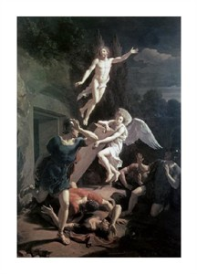 "Adriaen Van Der Werff Fine Art Open Edition Giclée:""Resurrection"""