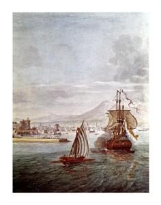 "Gasper Van Wittel Fine Art Open Edition Giclée:""Port of Naples"""