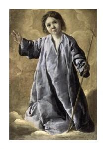 """Francisco De Zurbaran Fine Art Open Edition Giclée:""""Christ Child"""""""