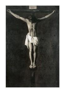 """Francisco De Zurbaran Fine Art Open Edition Giclée:""""Christ on the Cross"""""""