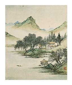 """Cai Jia Fine Art Open Edition Giclée:""""Landscape II"""""""