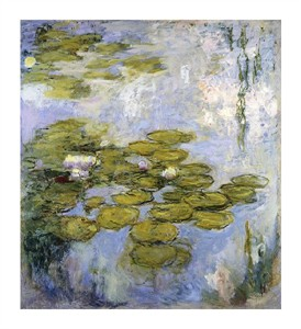 "Claude Monet Fine Art Open Edition Giclée:""Nympheas"""