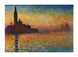 """Claude Monet Fine Art Open Edition Giclée:""""San Giorgio Maggiore"""""""
