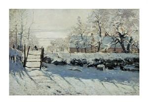"""Claude Monet Fine Art Open Edition Giclée:""""The Magpie"""""""