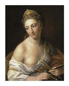 "Pompeo Giralamo Batoni Fine Art Open Edition Giclée:""Allegory of Painting"""