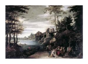 "Jan Bruegel Fine Art Open Edition Giclée:""Christ and the Canaanite Woman"""