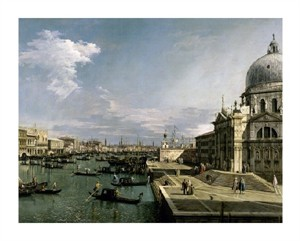 """Canaletto Fine Art Open Edition Giclée:""""Venice, Church of the Blessed Sacrament"""""""