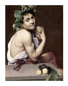 """Caravaggio Fine Art Open Edition Giclée:""""Sick Bacchus"""""""