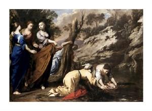 "Bernardo Cavallino Fine Art Open Edition Giclée:""Finding of Moses"""