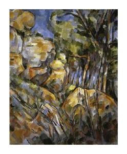 """Paul Cezanne Fine Art Open Edition Giclée:""""Le Paysage des Dernieres Annes"""""""