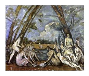 """Paul Cezanne Fine Art Open Edition Giclée:""""Les Grand Baigneuses #1"""""""