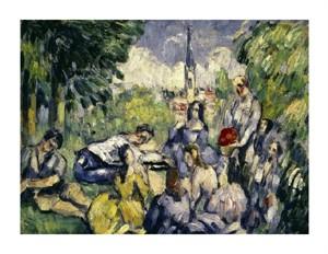 "Paul Cezanne Fine Art Open Edition Giclée:""Lunch on the Grass"""