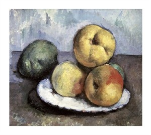 "Paul Cezanne Fine Art Open Edition Giclée:""Still Life with Apples & Peaches"""