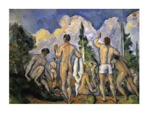 "Paul Cezanne Fine Art Open Edition Giclée:""The Bathers"""