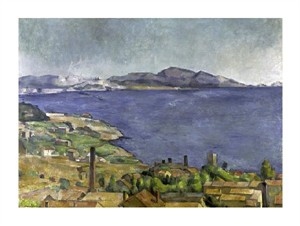 "Paul Cezanne Fine Art Open Edition Giclée:""The Gulf of Marseilles"""