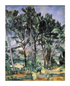 "Paul Cezanne Fine Art Open Edition Giclée:""The Viaduct"""