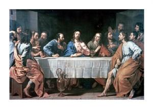 """Philippe De Champaigne Fine Art Open Edition Giclée:""""The Last Supper"""""""