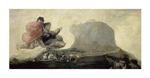 """Francisco De Goya Fine Art Open Edition Giclée:""""El Aquelarre"""""""