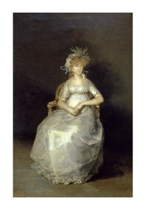 "Francisco De Goya Fine Art Open Edition Giclée:""The Countess of Chichon"""