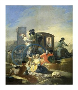 "Francisco De Goya Fine Art Open Edition Giclée:""The Pottery Vendor"""