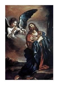 "Giovanni Guercino Fine Art Open Edition Giclée:""Christ in Gethsemane"""