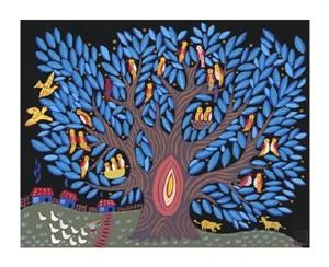 "Lu Bao Jiang Fine Art Open Edition Giclée:""Dusk"""