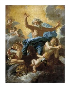 """Charles De La Fosse Fine Art Open Edition Giclée:""""God the Father Supported by Angels"""""""