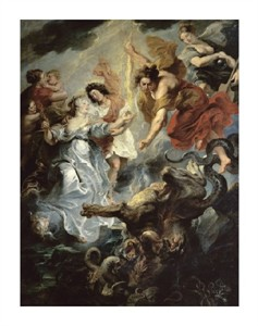 "Peter Paul Rubens Fine Art Open Edition Giclée:""The Queen's Reconciliation with Her Son"""