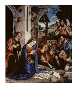 "Andrea Sacchi Fine Art Open Edition Giclée:""The Holy Family"""