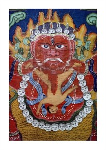 "Unknown Fine Art Open Edition Giclée:""Goddess Kali"""