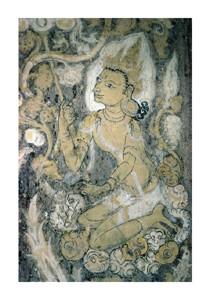 "Unknown Fine Art Open Edition Giclée:""Pagan Fresco, Burma"""