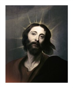 """Anthony Van Dyck Fine Art Open Edition Giclée:""""Jesus Holy Christ"""""""
