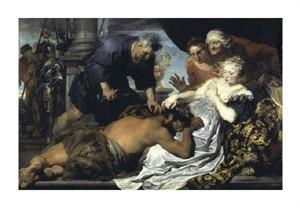 "Anthony Van Dyck Fine Art Open Edition Giclée:""Samson and Delilah"""