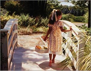 """Jean Monti Fine Art Canvas Giclee:""""What Lies Ahead"""""""