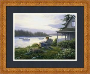 """Robert Duncan Framed Art: """"A Bit of Heaven"""""""