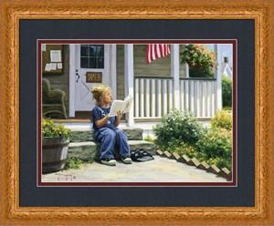 """Robert Duncan Framed Art: """"Swept Away - Large"""""""