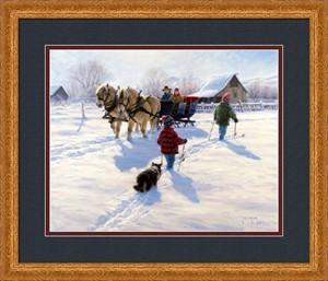 """Robert Duncan Framed Art: """"A Grand Day"""""""