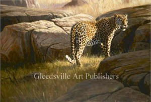 "Grant Hacking Handsigned and Numbered Limited Edition Gallery Giclee Canvas: ""Reclusive"""