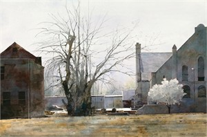 "Dean Mitchell Hand Signed and Numbered Limited Edition Giclee on Paper:""Early Spring in St. Louis """