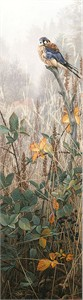"Stephen Lyman Estate Signed and Numbered Limited Edition Anniversary Canvas Giclee:""Among the Wild Brambles"""