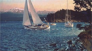 """Christopher Blossom Limited Edition Print:""""Windward"""""""