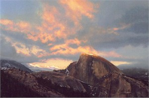 """Stephen Lyman Limited Edition Canvas:""""Last Touch of Light """""""