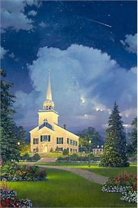 "William Phillips Limited Edition Print: ""The Heavens Proclaim His Glory """