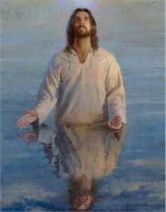 "Morgan Weistling Open Edition Fine Art Canvas Giclée:""Reflection of God"""